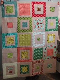 STAMP * STITCH * CREATE: WIP quilt top finish