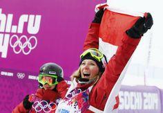 Dara Howell win Olympic women's ski slopestyle gold!