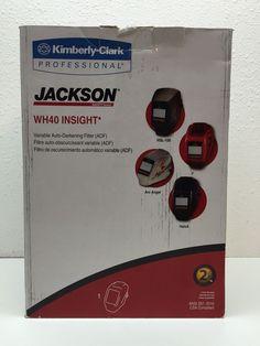 Jackson Safety WH40 Insight Variable Auto Darkening Welding Helmet Halox Black | eBay