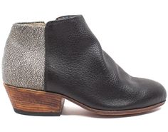 A little black bootie with a twist