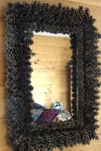 Pincone Crafts--could use to frame chalkboard