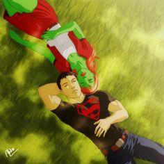 superboy deviantart | Young Justice Miss Martian Superboy - 07