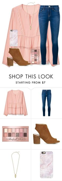 """""""Field trip tomorrow:)"""" by emmagracejoness ❤ liked on Polyvore featuring Gap, Frame, Maybelline, Office, Kendra Scott and Casetify"""