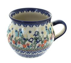 Polish Pottery Garden of Eden Bubble Mug * Read more  at the image link. (This is an Amazon affiliate link and I receive a commission for the sales and I receive a commission for the sales)