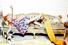 Kylie Minogue by Ellen Von Unwerth for Stylist March 2014