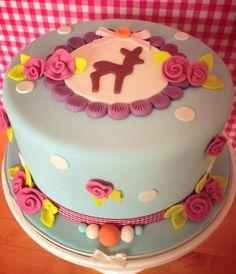 @Stephanie Deskins Baby shower cake.