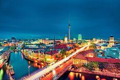 Berlin night lights