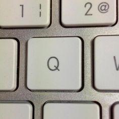El teclado de mi puesto de trabajo