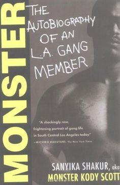 Monster: The Autobiography of an L.A. Gang Member by Sanyika Shakur, http://www.amazon.com/dp/0802141447/ref=cm_sw_r_pi_dp_MSpcrb0HPG41F