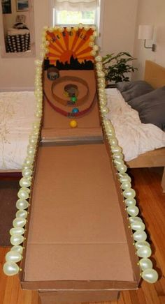 Make your own skee ball