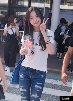 Photo album containing 13 pictures of Wonyoung Kpop Girl Groups, Kpop Girls, Yuri, Cute Korean Girl, Japanese Girl Group, Girl Day, Beautiful Asian Girls, Ulzzang Girl, Cute Girls