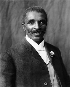George Washington Carver Portrait 1906 Photo of George Washington Carver, half-length portrait, facing right, at Tuskegee Institute in Tuskegee, Alabama. By: Frances Benjamin Johnston