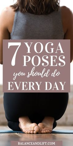 Yoga Poses You Should Do Every Day Yoga is great for stress relief and tension relief. Here are 7 yoga poses you should do every day.Yoga is great for stress relief and tension relief. Here are 7 yoga poses you should do every day. Health And Fitness Tips, Health And Wellness, Health Tips, Health Benefits, Yoga Benefits, Health Yoga, Health Goals, Yoga Fitness, Physical Fitness