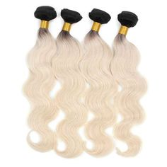 【Malaysian Diamond Virgin Hair】aliexpress hair cheap blonde ombre hair extensions bundles malaysian body wave black hair with blonde ombre remy human hair products Brown To Blonde Ombre Hair, Ombre Hair Weave, Best Ombre Hair, Blonde With Dark Roots, Ombre Hair Color, Blonde Color, Dark Hair, Blonde Hair, Thick Hair