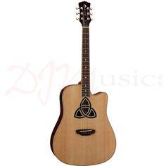 Luna Trinity Electro Acoustic Guitar