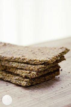 CookBlog | Chrupki chlebek z rukolą