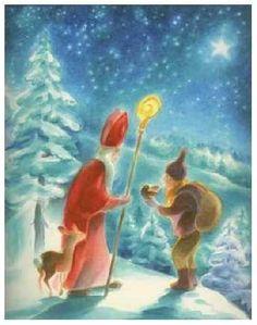 Sankt Nikolaus der Gabenbringer