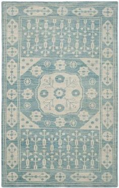 $5 Off when you share! Safavieh Kenya KNY683A Blue Rug