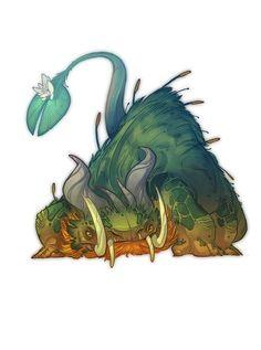 Resultado de imagem para concept art monsters