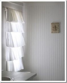bathroom curtains cropped - looks beachy and amazing!