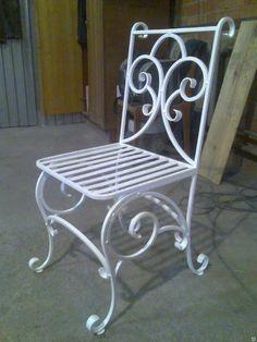 стулья своими руками кованые стиль