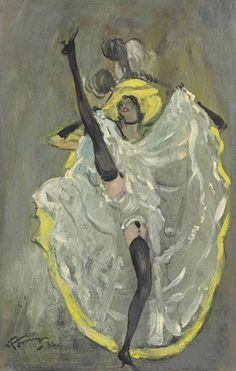 French CanCan - Jean-Gabriel Domergue 1932   Eva's blog