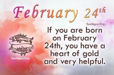 February 24 Famous Birthdays | Sun Signs