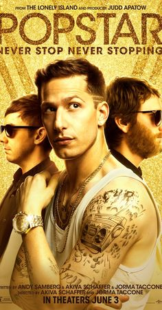 Directed by Akiva Schaffer, Jorma Taccone.  With Andy Samberg, Jorma Taccone, Akiva Schaffer, Sarah Silverman. When it becomes clear that his solo album is a failure, a former boy band member does everything in his power to maintain his celebrity status.