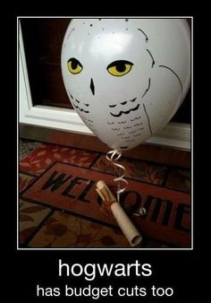 Even Hogwarts has budget cuts...