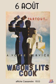 Cassandre - Wagons lits Cook - 1933