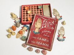 antique victorian game via ohiopicker on Etsy Victorian Games, Victorian Toys, Victorian Parlor, Victorian Christmas, Victorian Life, Vintage Board Games, Fun Board Games, Retro Toys, Vintage Toys