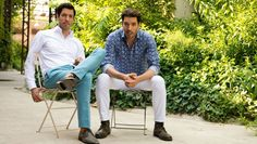 "Drew and Jonathan Scott chat with THR about co-writing and singing ""Let the Night Shine In"" and ""Hold On"" for their 'Property Brothers at Home on the Ranch' special."