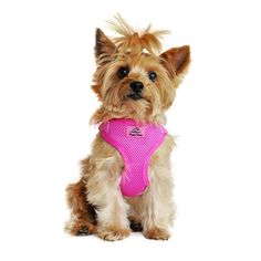 The Wrap and Snap Choke Free Dog Harness by Doggie Design adjusts in four places allowing the perfect fit. Set this choke free dog harness once and then simply wrap, snap and go! Sizing: Size Chest Re