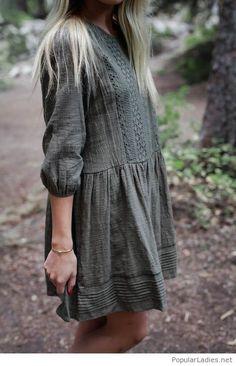 amazing-grey-dress-vintage-style