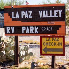 La Paz RV Park Quartzsite AZ Passport America Campgrounds