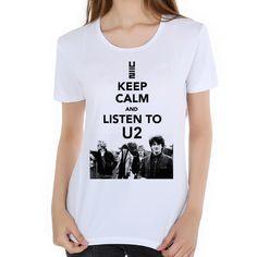 2018 World Tour T-Shirt Top Quality camiseta women Rock Band T Shirt U2 The Joshua Tree 30th Anniversary T shirt M26-1#. Yesterday's price: US $10.88 (8.96 EUR). Today's price: US $7.72 (6.37 EUR). Discount: 29%.