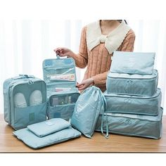 Pieces Waterproof Travel Organizer Waterproof Multi-function Travel Bags i. - Pieces Waterproof Travel Organizer Waterproof Multi-function Travel Bags is fashion-NewChic