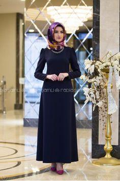 Elit Elbise - Lacivert - Rabia Şamlı