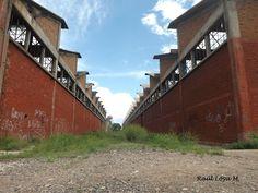 Antiguos Talleres del Ferrocarril CH-p, en La Junta Chih.