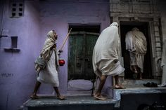 Three Jain monks travel to a temple in this National Geographic Your Shot Photo of the Day.