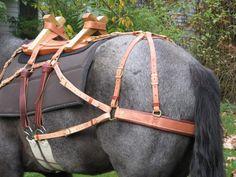 The Chris Tornow Custom Sawbuck Pack Saddle