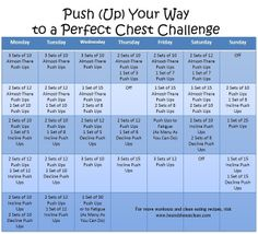 Monthly Challenge :: Push (Up) Your Way to a Perfect Chest #eatclean #heandsheeatclean #pushup #chest #workout #athome #fitness #exercise #challenge #monthlychallenge