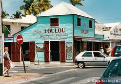 Chez Loulou,Saint-Gilles-les-Bains, Ile de la Reunion, Scan from photo