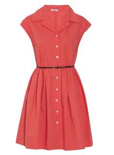 Love this Miu Miu vintage inspired shirtdress.