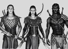 Wyrden, Arya, Blödhgram female male mythical warrior archer referenced