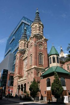 St. Mary's Church, Detroit (Greektown)