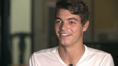 Taylor Fritz, the 18 year old American from CA, is playing in his first ATP Tournament Final, the Memphis Open. This is historical because the last teen to do so was Michael Chang.  Good Luck to the young man in his first-ever, Tour Final : )