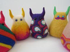 Handcraft stuffed monsters// GUILTY