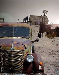Oklahoma Dust Bowl SD -- this is part and parcel the history and heritage of my family. I was shocked to learn from the Ken Burns special this disaster was completely man-made. The center of this country so very easily could have ended as the Sahara dessert of the New World.