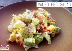 Delicious and nutritious recipe for Paleo egg salad.